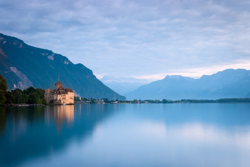 Le Château de Chillon © David Briard