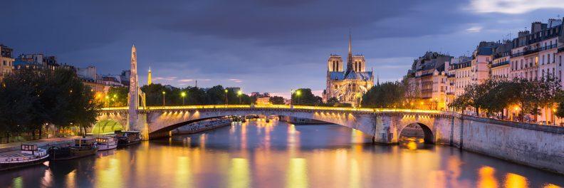 Notre-Dame et le pont de la Tournelle © David Briard