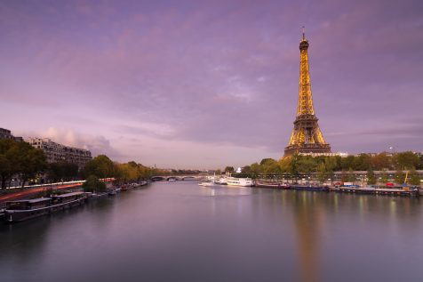 La Seine et la Tour Eiffel © David Briard