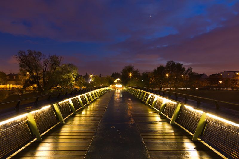 Passerelle sur la Marne © David Briard