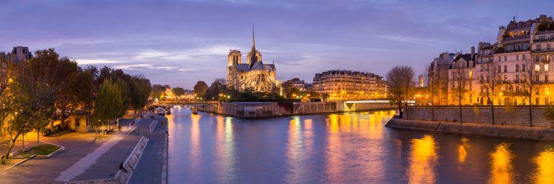 Notre Dame au crépuscule © David Briard