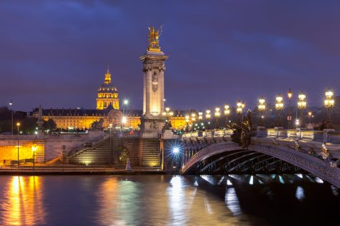 Pont Alexandre III et Les Invalides © David Briard