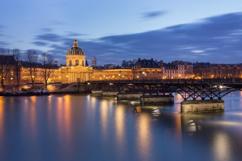 Pont des Arts et Institut de France © David Briard