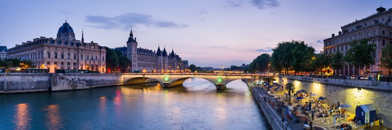 Conciergerie et Paris plage © David Briard