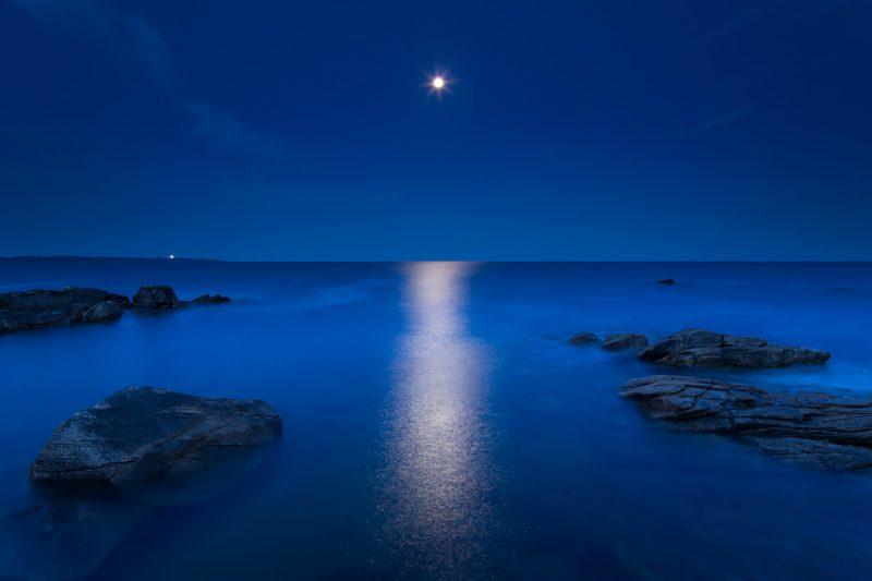 Lever de lune © David Briard
