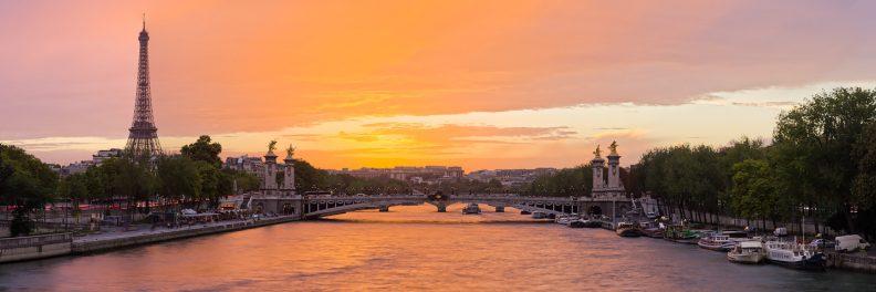 Pont Alexandre III et Tour Eiffel © David Briard