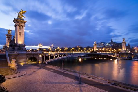 Pont Alexandre III et Grand Palais © David Briard