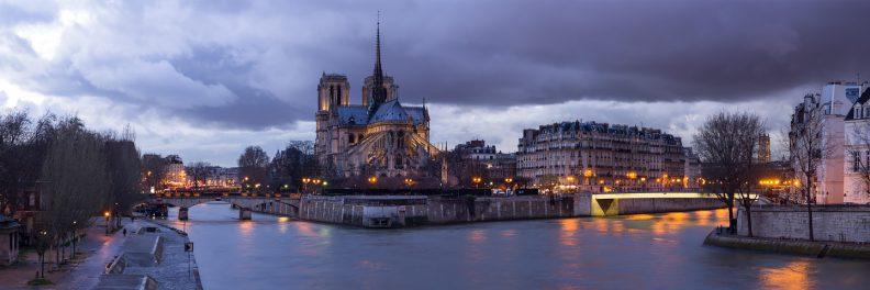 Notre Dame de nuit © David Briard