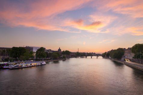 La Seine et le Pont des Arts © David Briard