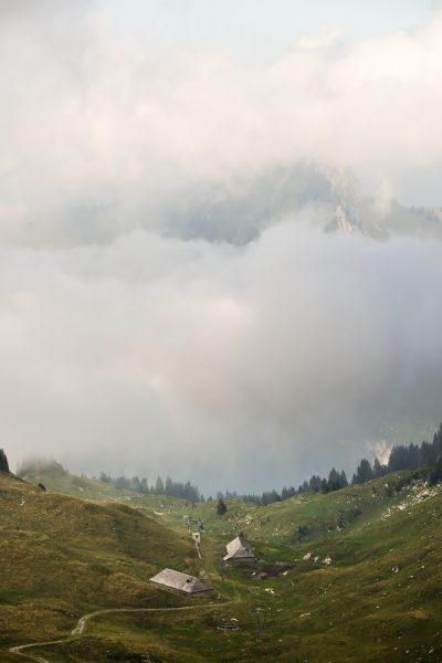 Vue depuis les Rochers-de-Naye © David Briard