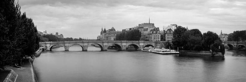 Le Pont Neuf et l'Île de la Cité © David Briard