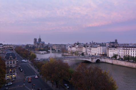 Notre Dame et Paris © David Briard