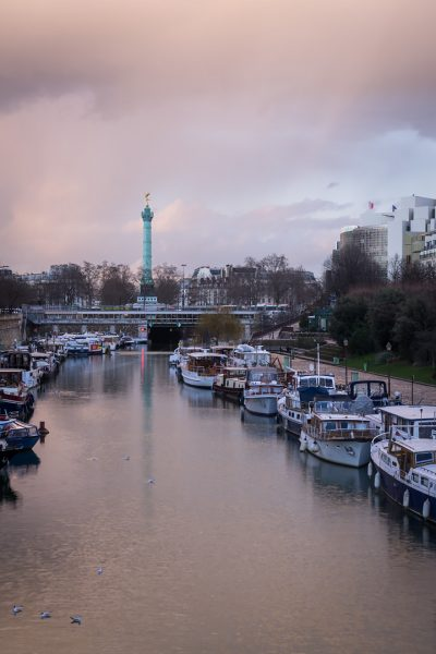 Le port de l'Arsenal © David Briard