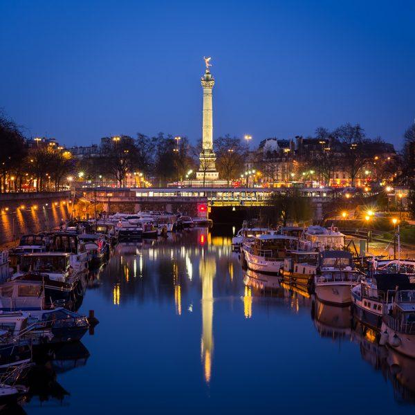 Le port de l'Arsenal © David Briard