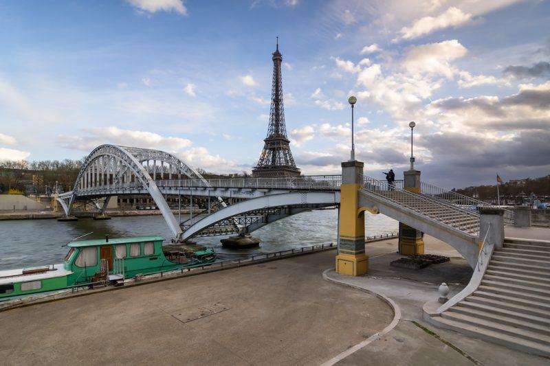 Passerelle Debilly et Tour Eiffel © David Briard