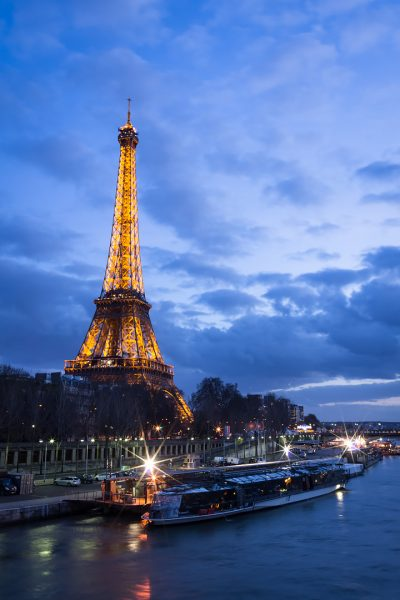 Tour Eiffel depuis la Passerelle Debilly © David Briard
