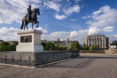 Statue équestre d'Henri IV © David Briard