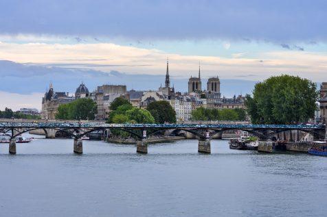 Pont des Arts et Île de la Cité © David Briard