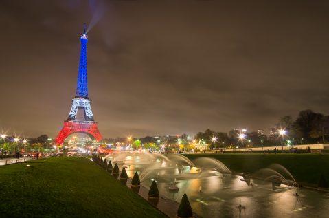Tour Eiffel tricolore © David Briard