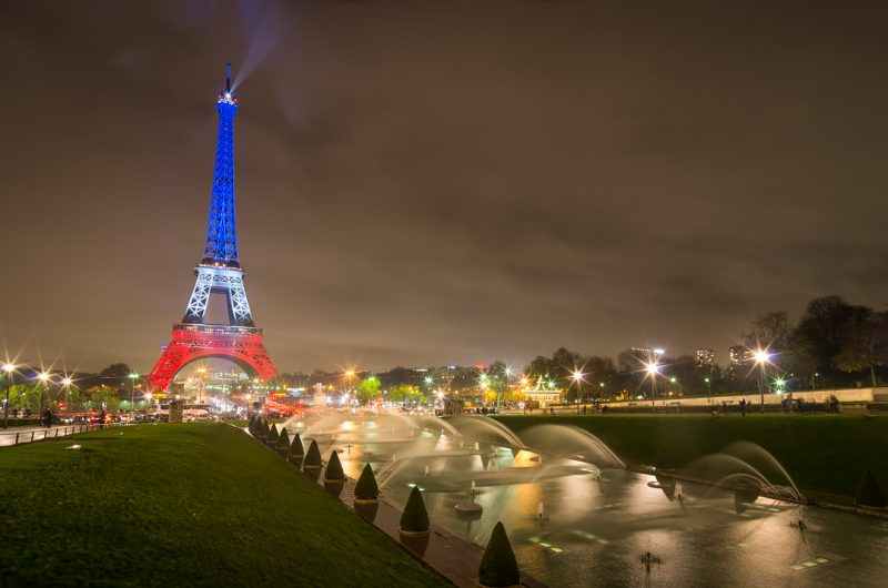 Tour Eiffel tricolore © David Briard