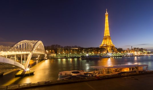 Le port Debilly et la Tour Eiffel © David Briard