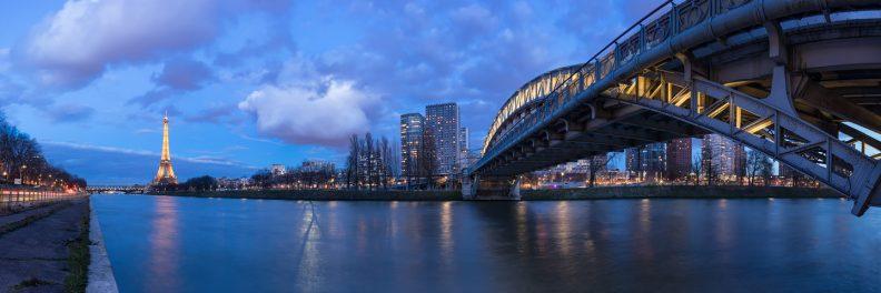 Le Pont Rouelle et le quartier de Grenelle © David Briard