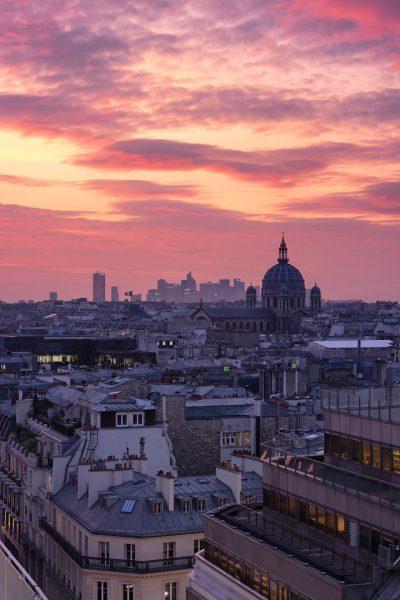 Église Saint-Augustin et La Défense © David Briard