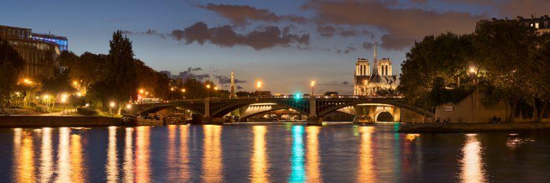 Pont de Sully et Notre-Dame © David Briard
