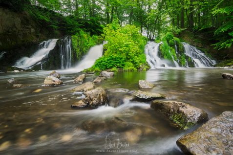 Blangy's waterfall © David Briard