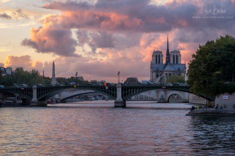 Pont de Sully et Notre Dame © David Briard