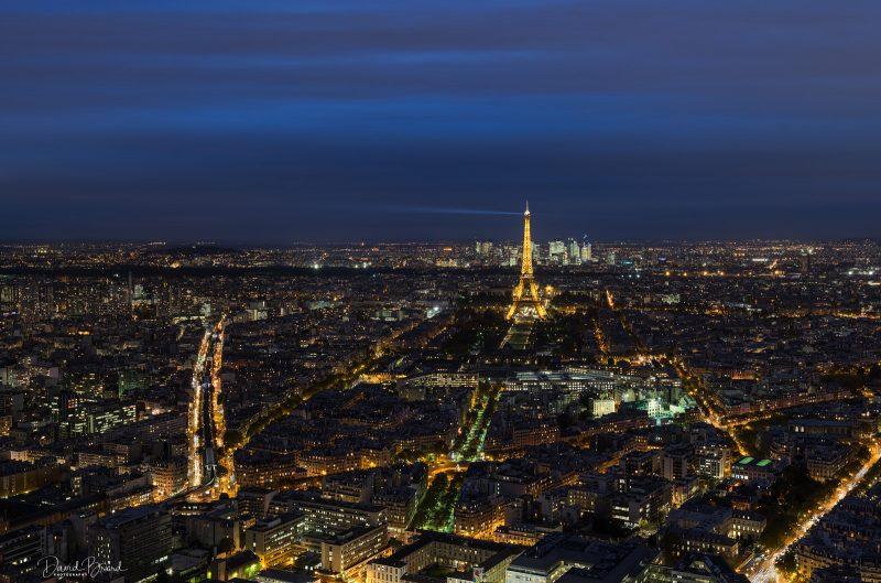 Paris by Night © David Briard