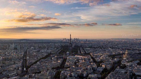 Paris at Sunset © David Briard