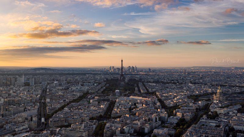 Paris at Sunset © David Briard