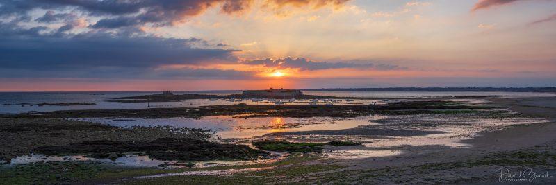 Fort Bloqué at sunset © David Briard