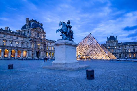 Statue équestre de Louis XIV © David Briard