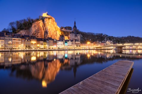Pier of Dinant at night © David Briard