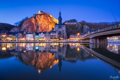 Dinant Citadel and Collegiate Church of Notre-Dame © David Briard